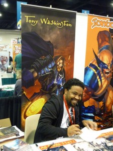 Tony Washington Comic Con 2010