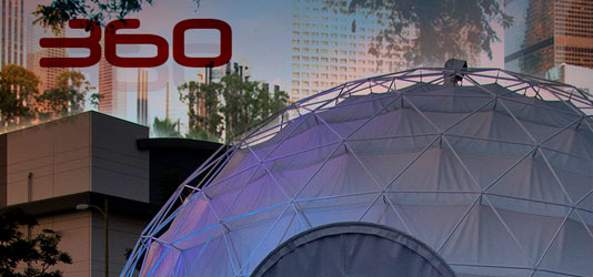 360 dome banner